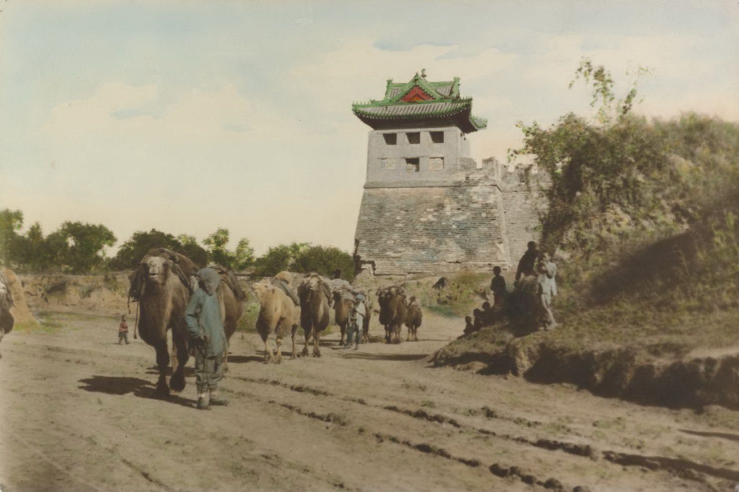 Цветные фото старого Китая | Китай и Фотографии
