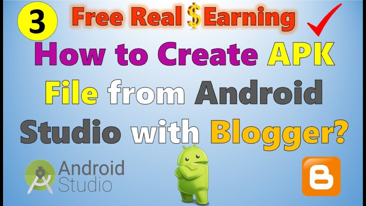 How to Create Android App APK File from Android Studio