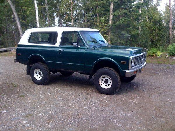 The Blaze My 71 Blazer The Story Expedition Portal Classic Chevy Trucks Chevy Blazer K5 Classic Chevrolet