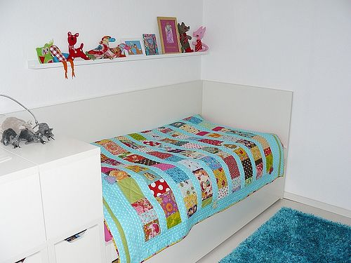 Vitrine Ikea Detolf Occasion ~ IKEA Odda Flaxa Childrens Bed Frame  Headboard & Pull Out Guest Bed