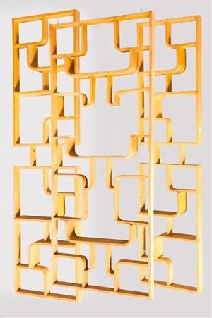 vara 4026075 jindrich halabala drei raumteiler regale drevopodnik holesav claustra - Raumteilerregale