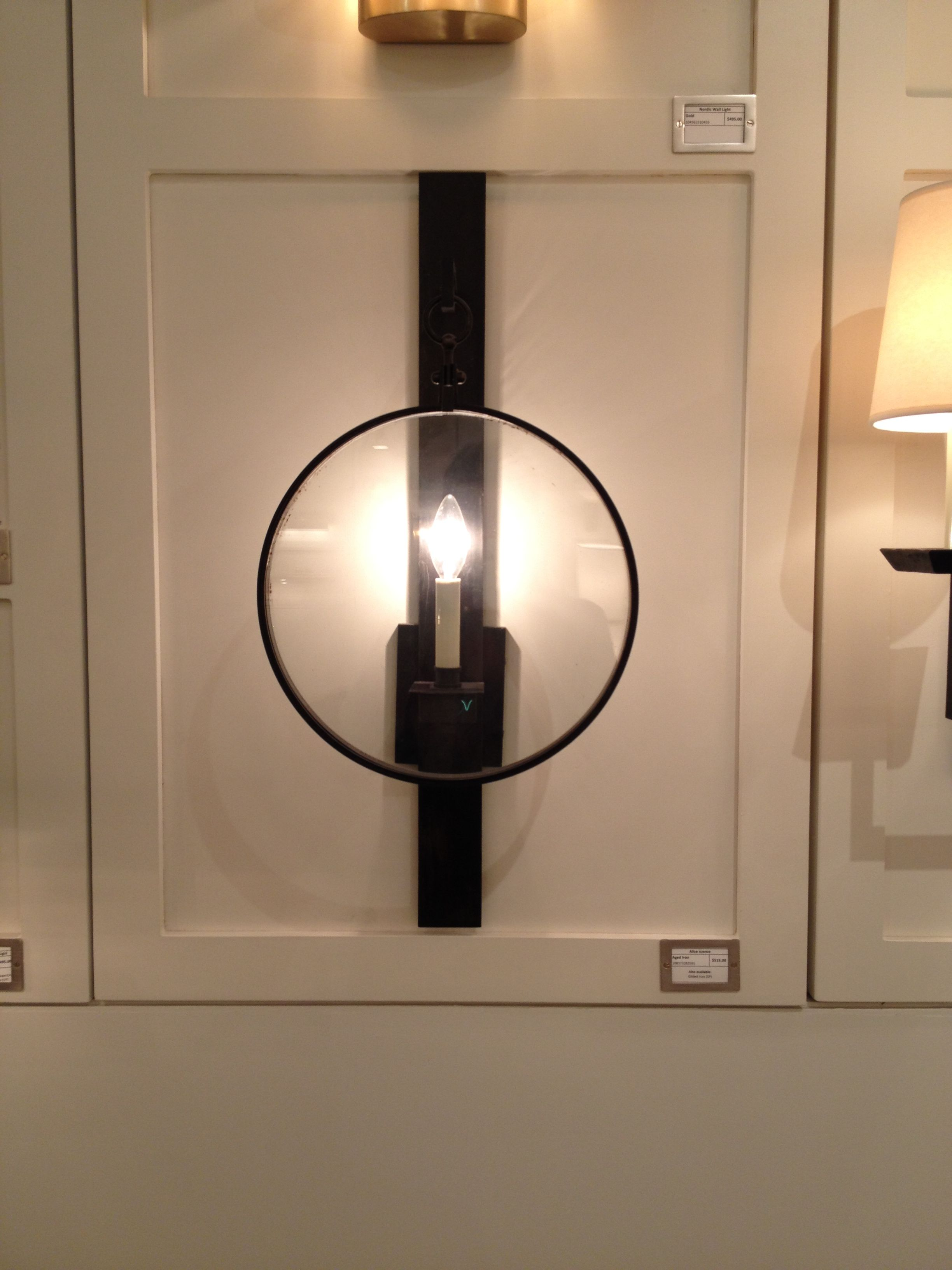 Through The Looking Gl Lighting Elte Sconce Wall Decor Bronze