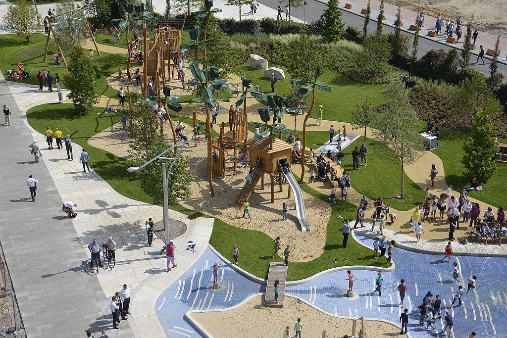 graasbrookpark hafencity hamburg g playgrounds pinterest urban park urban design and. Black Bedroom Furniture Sets. Home Design Ideas
