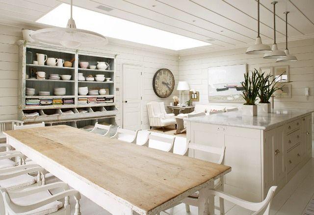 revista living decoracin rustik chateaux acogedor ambiente cocina comedor y saln en