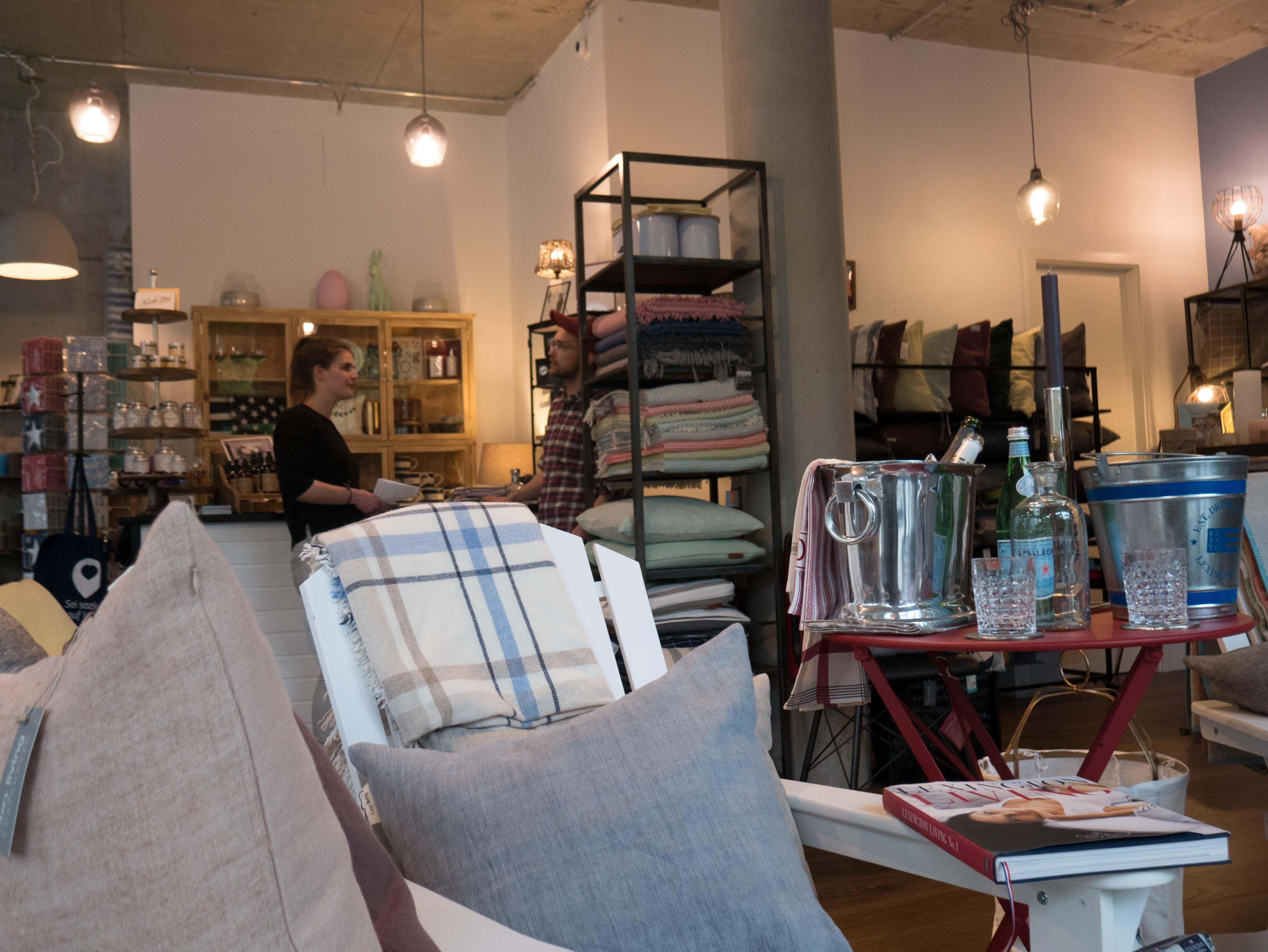Einzelhandel Geschäft Für Lifestyle Und Interior Dekoration In Berlin: Raum  Gestaltung