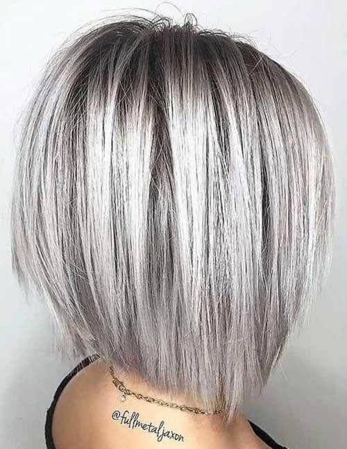 14 hair Grey bob ideas