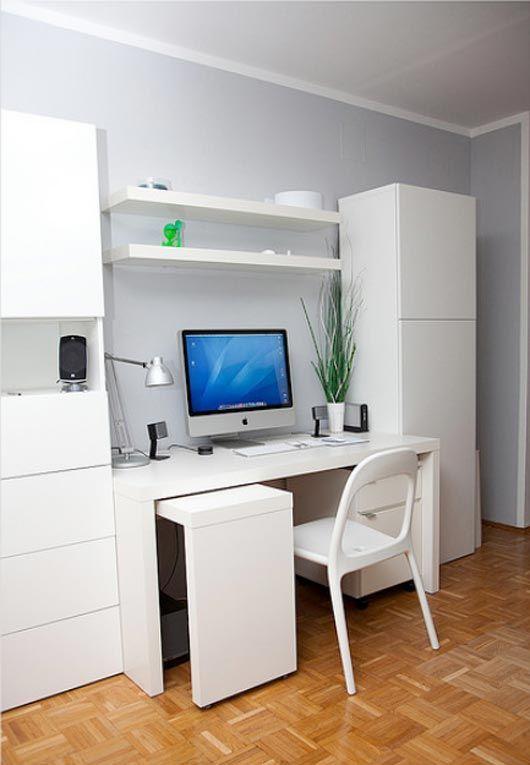 love the pull out keyboard desk. Looks like Ikea.