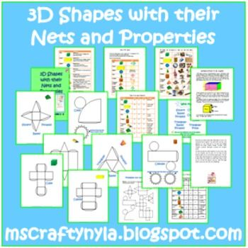 3d shapes worksheets sorting activities nets posters 3d shapes. Black Bedroom Furniture Sets. Home Design Ideas