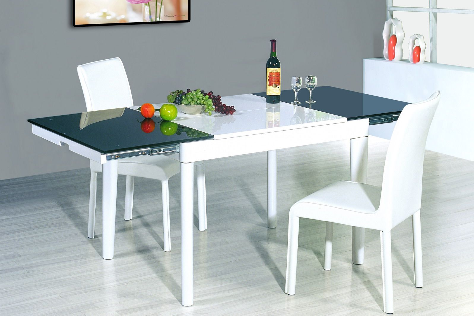 6015 Table 807 Chairs This modern table is stylish, yet simple. it ...