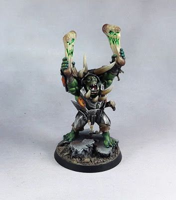 Warhammer Age of Sigmar Ironjawz Warchanter .