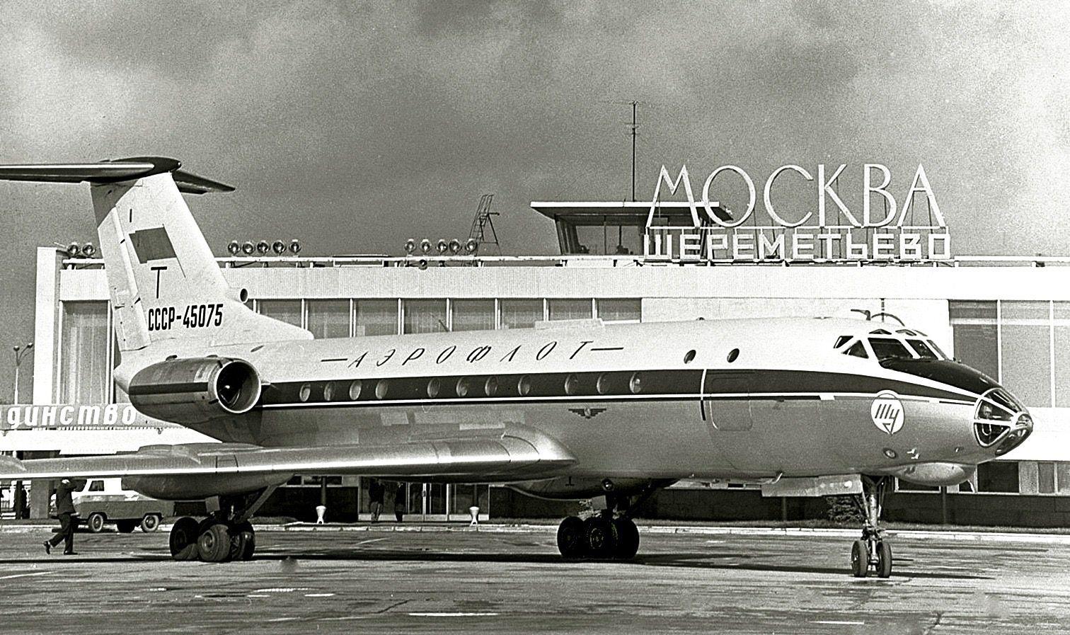 Aeroflot Tu134 СССР45075 Passenger, Aircraft