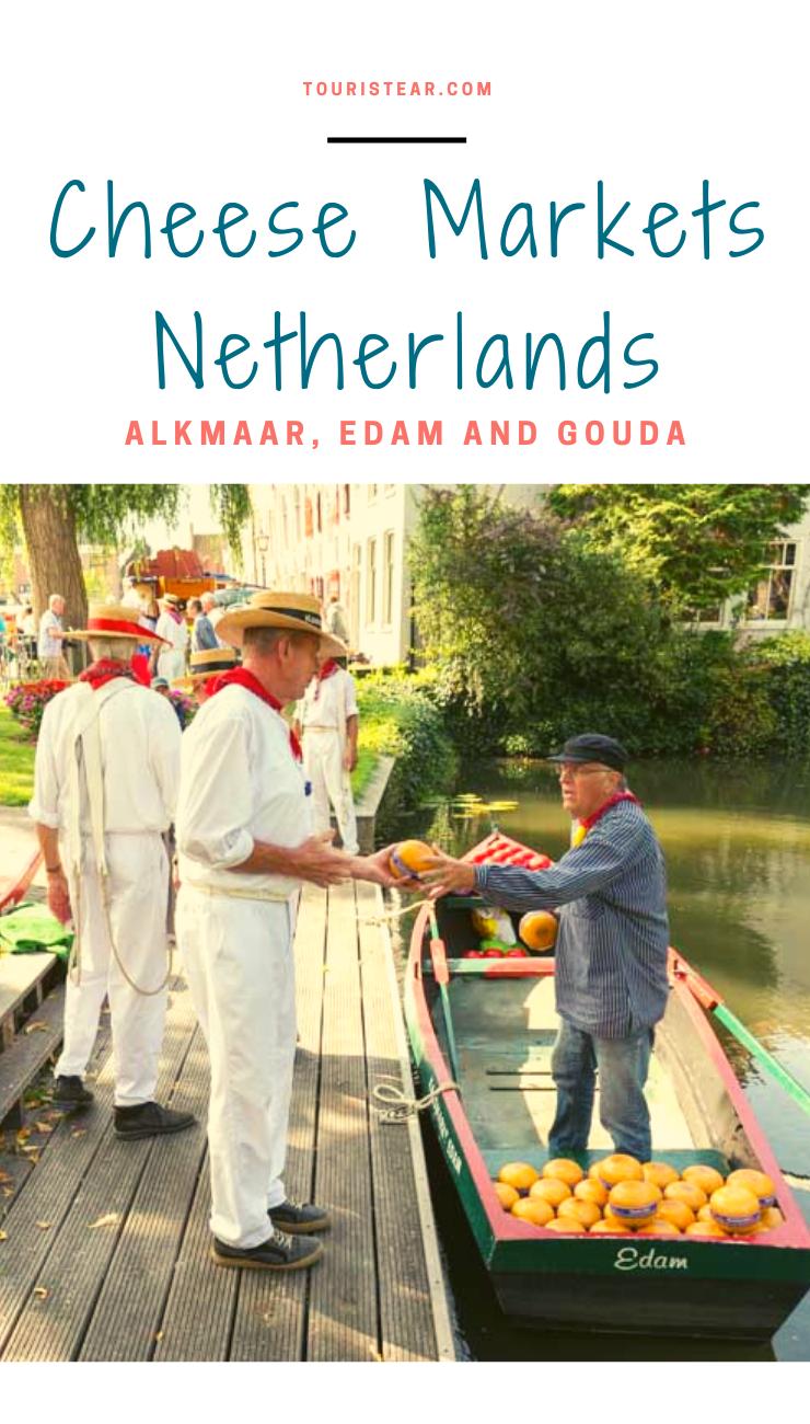 Cheese Route In The Netherlands Gouda Edam And Alkmaar Gouda Alkmaar Edam
