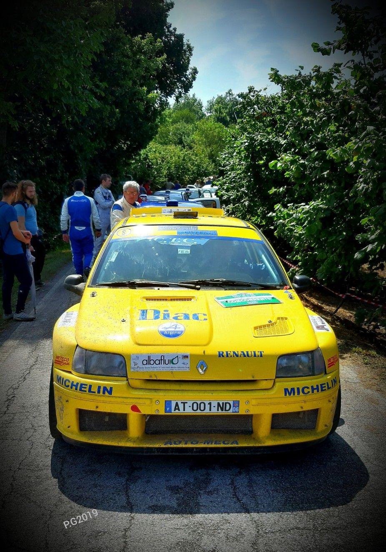 Rally di Alba 2019...Renault Clio Maxi Auto, Anni 80