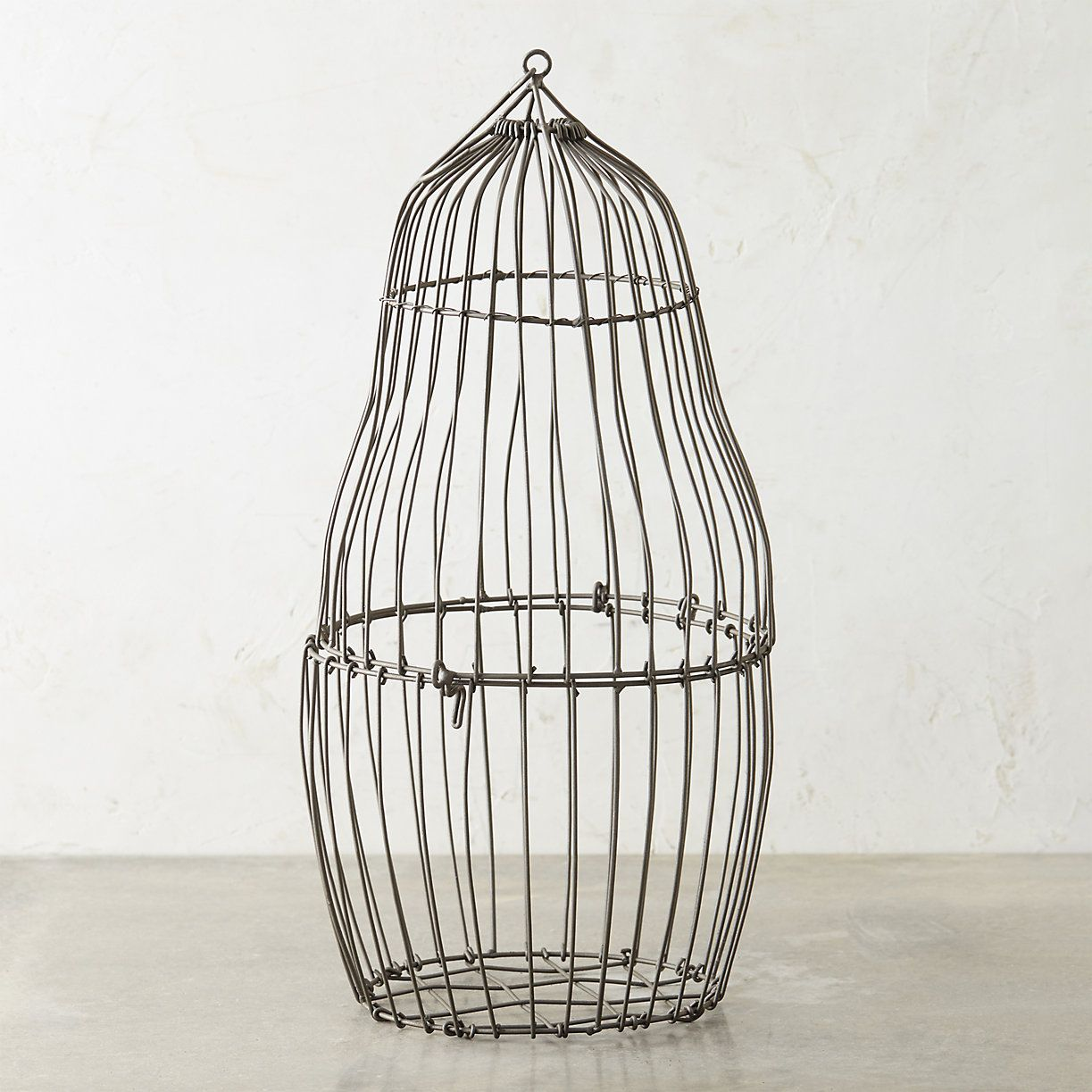 Steel Bird Cage Planter   Bird cages, Planters and Steel