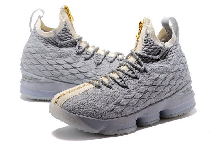 sale retailer c8816 f3701 ... city edition wolf grey metallic gold 2017 by tresor b45f2 8ca98 get  kith x nike lebron 15 mens original basketball shoes wolf grey gold 4f421  50281