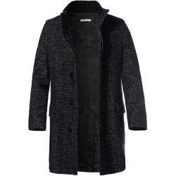 Photo of bugatti Herren Mantel Coat, Wolle-Alpaka, blau meliert Bugat…