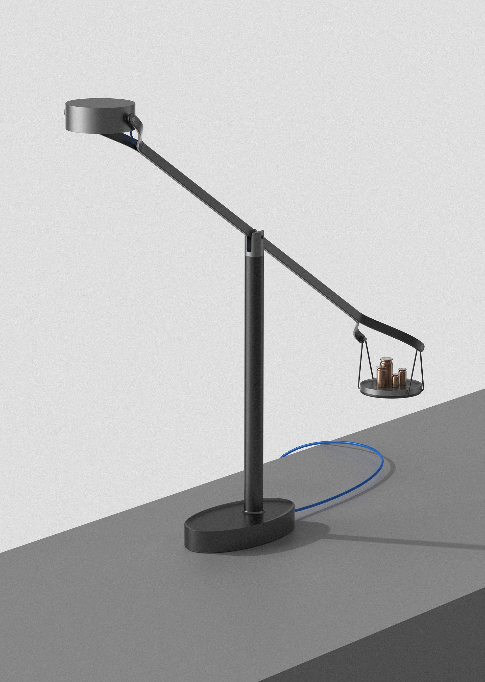 Weightify On Behance Lamp Lighting Desk Lamp