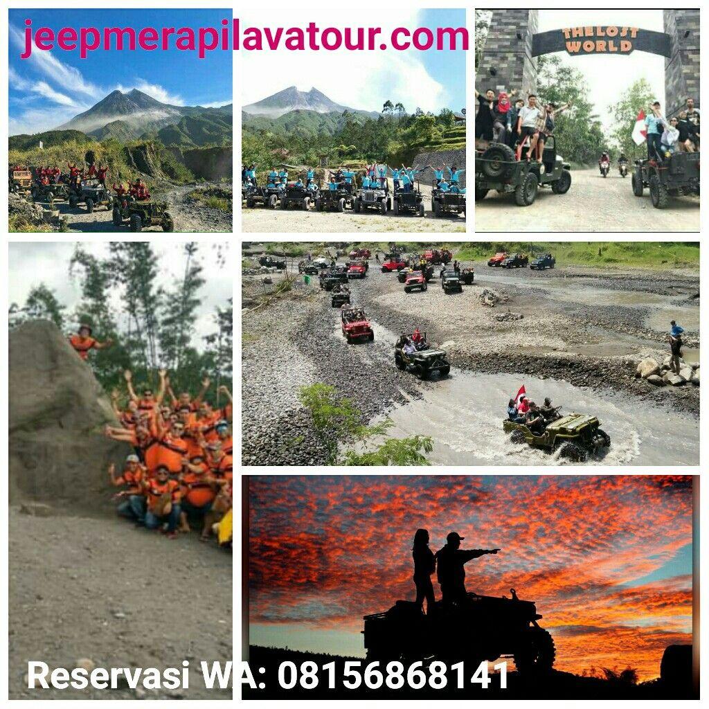Paket wisata dari Sendangsari Family Homestay : Sunrise merapi lava tour,  lostworld castel merapi, stonehenge petung,  merapi park,  outbound merapi, wisata desa,  jeep wisata offroad merapi