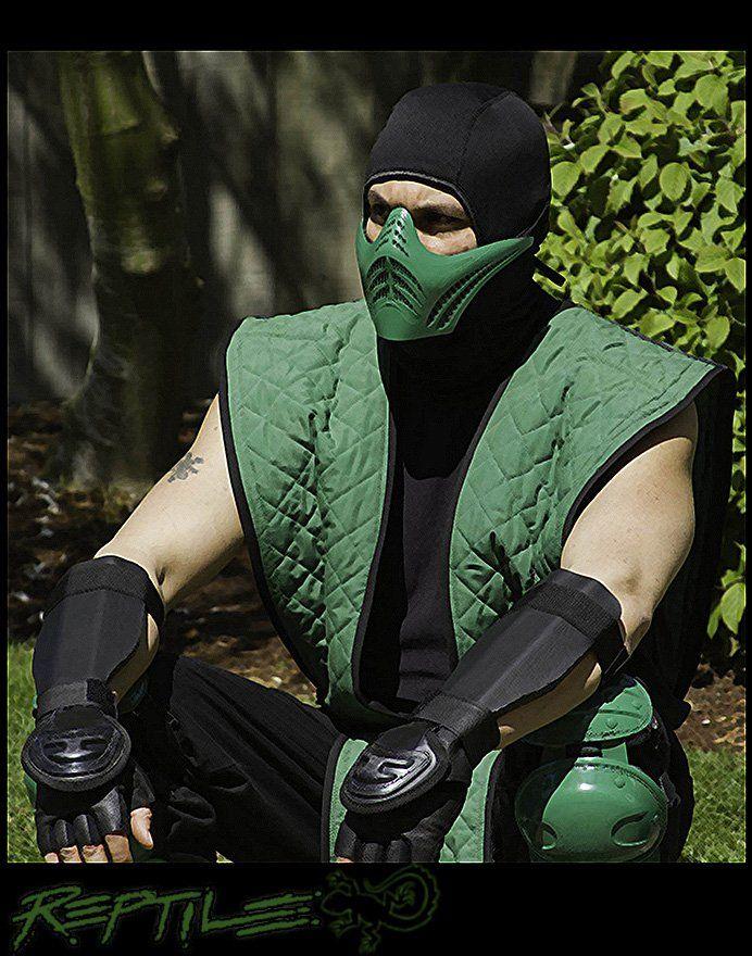 Reptil Cosplay Mortal Kombat-3973