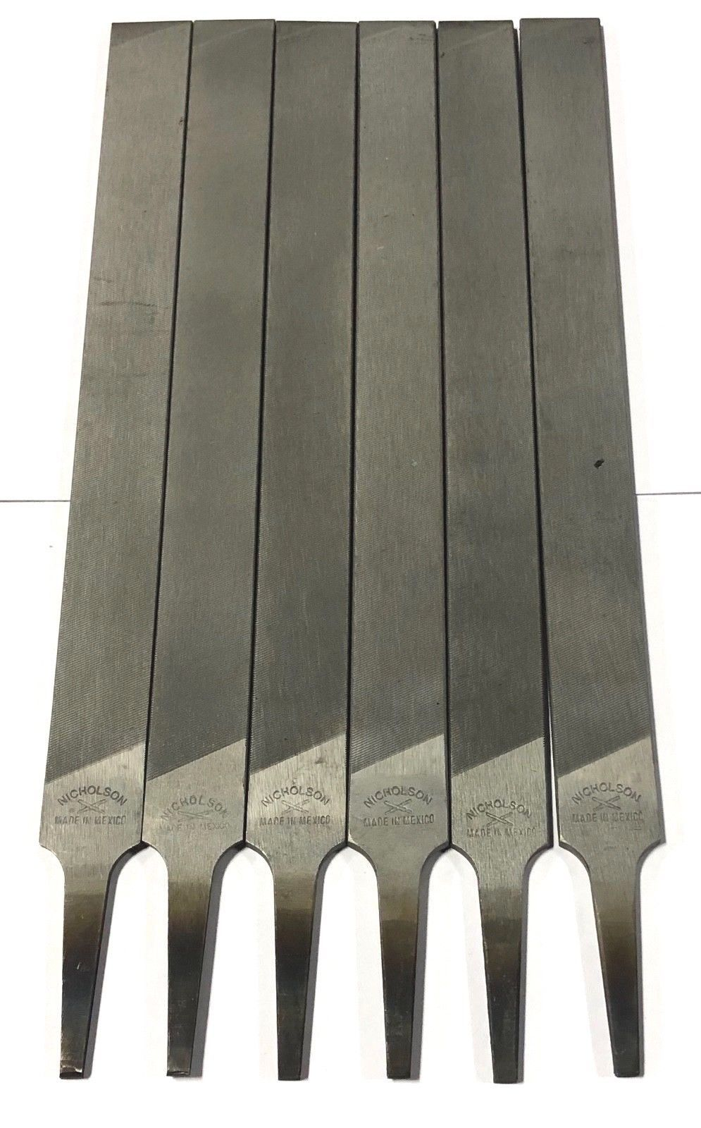 Nicholson 8 Farmers Own File Axe Sharpening Agricultural Tools 6 Pack 06649N