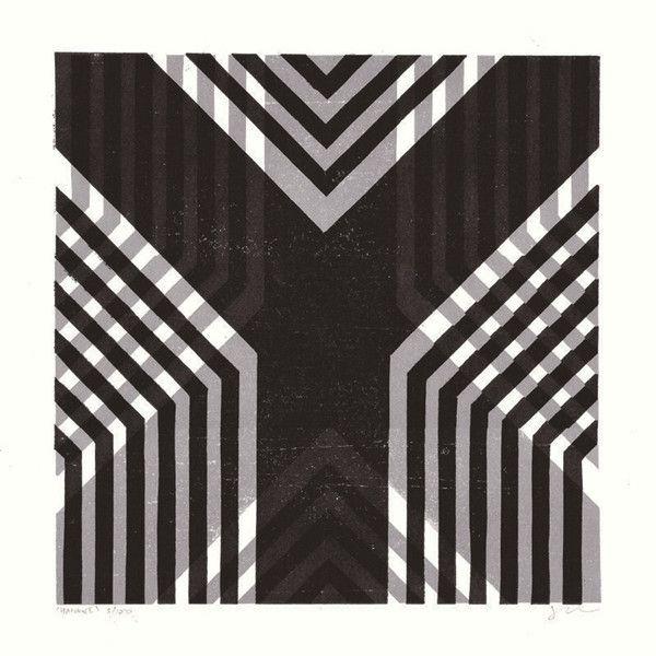 James Brown lino cut - Y