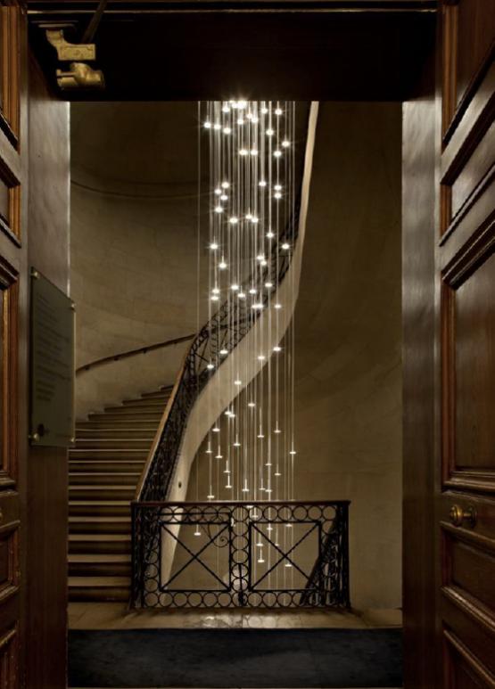 Pinterest - Lamparas de escalera ...