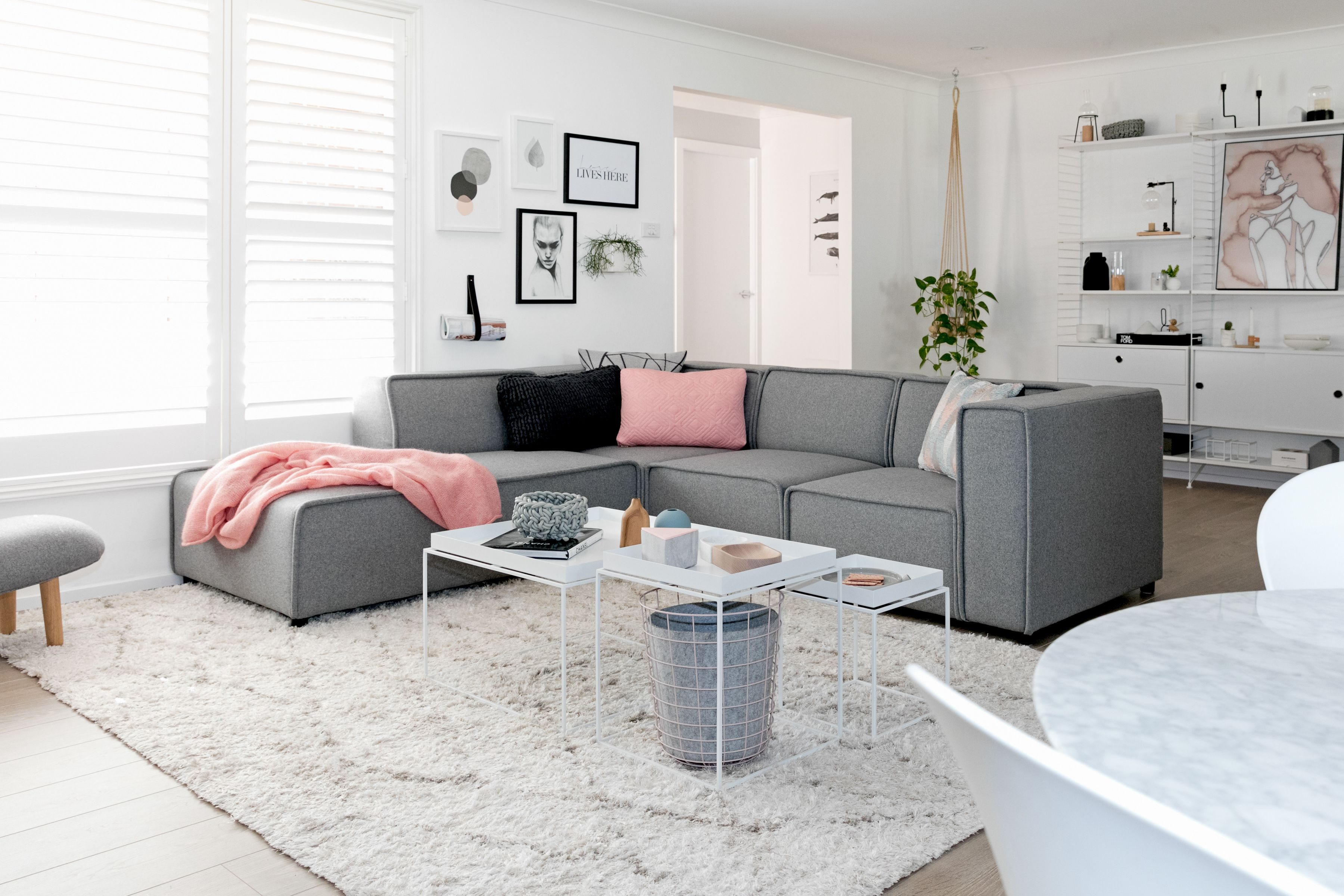 Scandinavian Sweetness And Calm With Boconcept Carmo Sofa