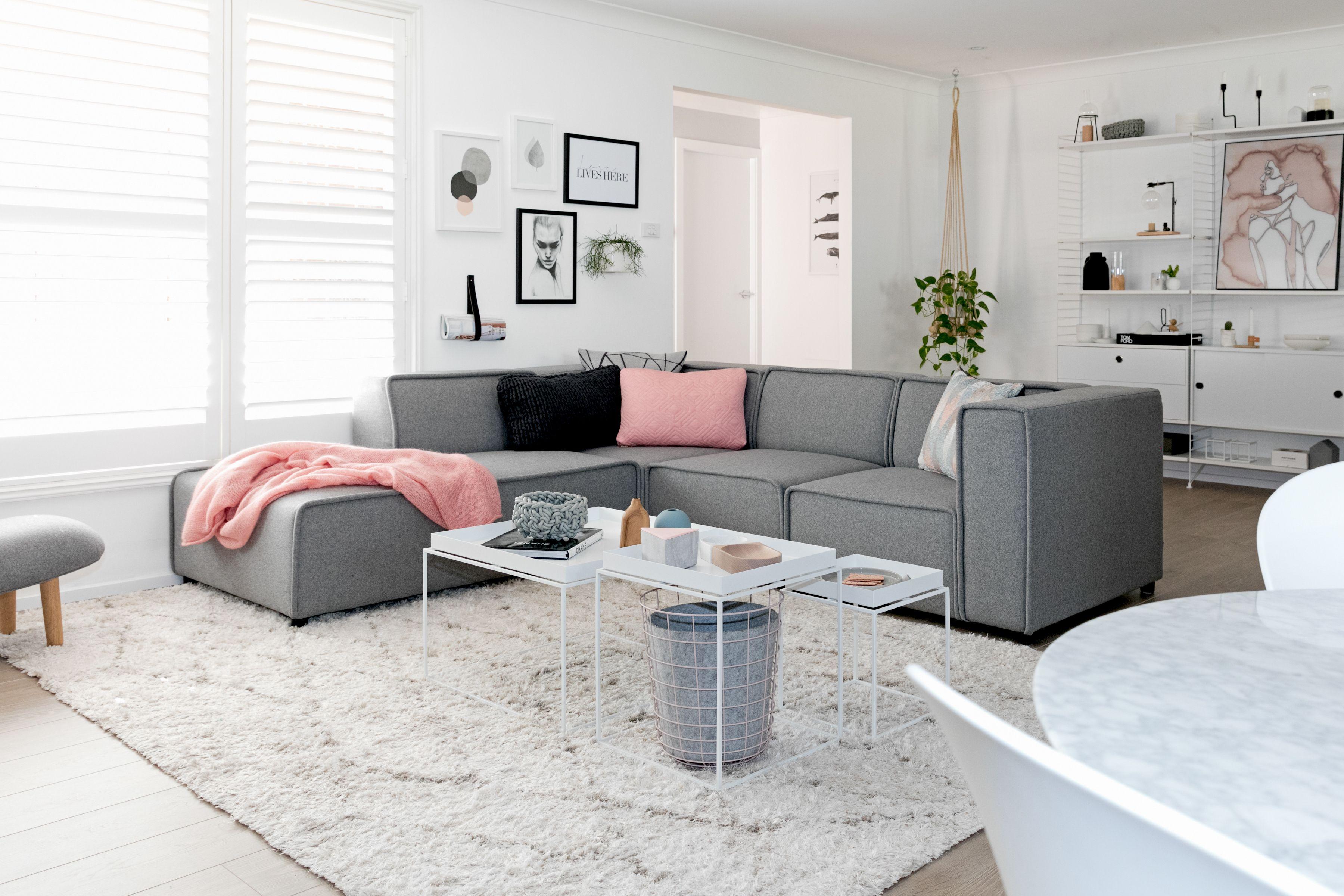 scandinavian sweetness and calm with boconcept carmo sofa a true scandinavian home. Black Bedroom Furniture Sets. Home Design Ideas