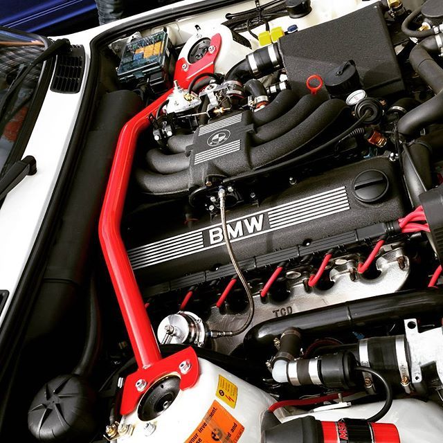 The engine bay is as clean as the exterior  An immaculate specimen