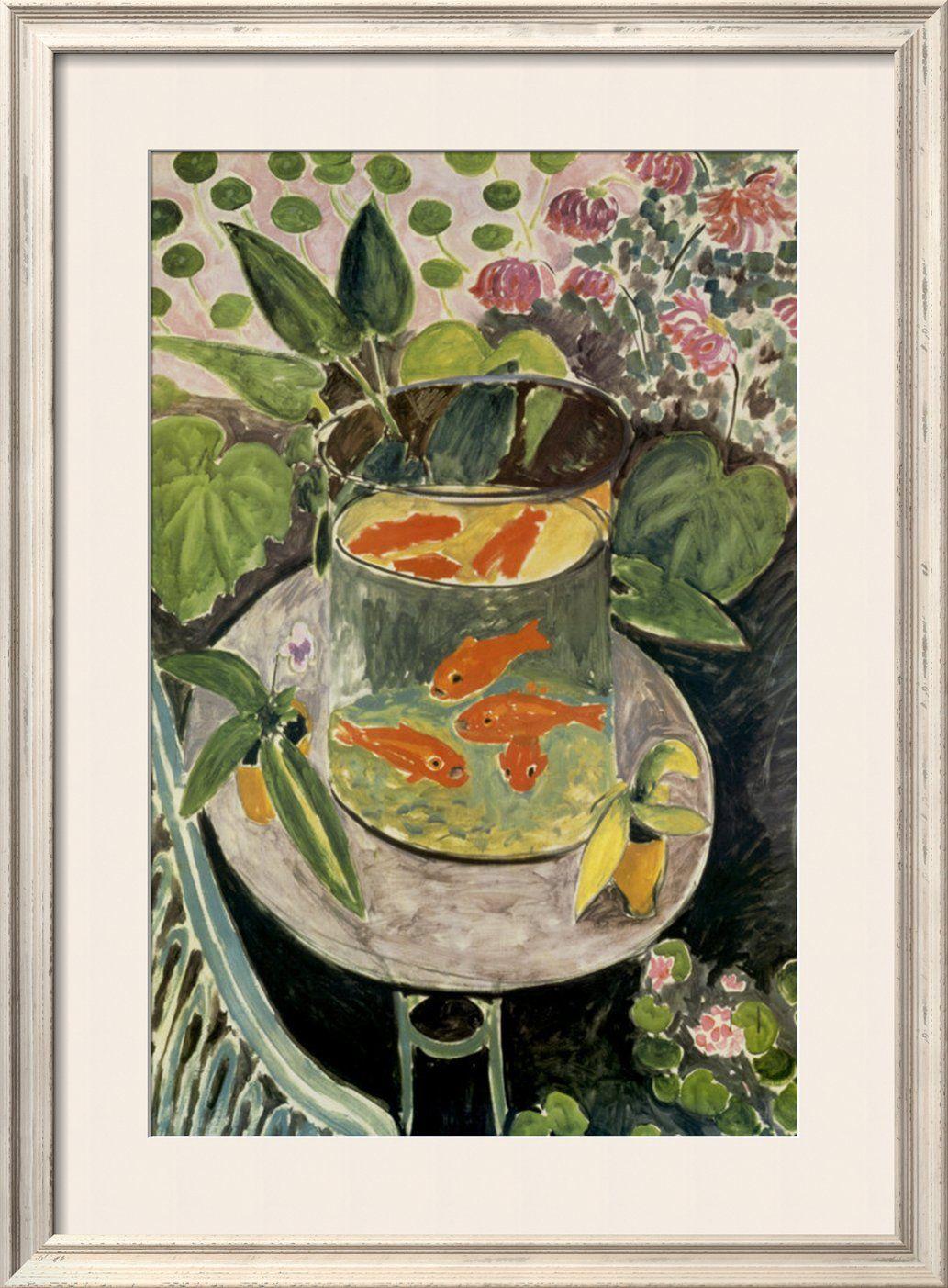 /\ /\ . Goldfish, 1911, Henri Matisse