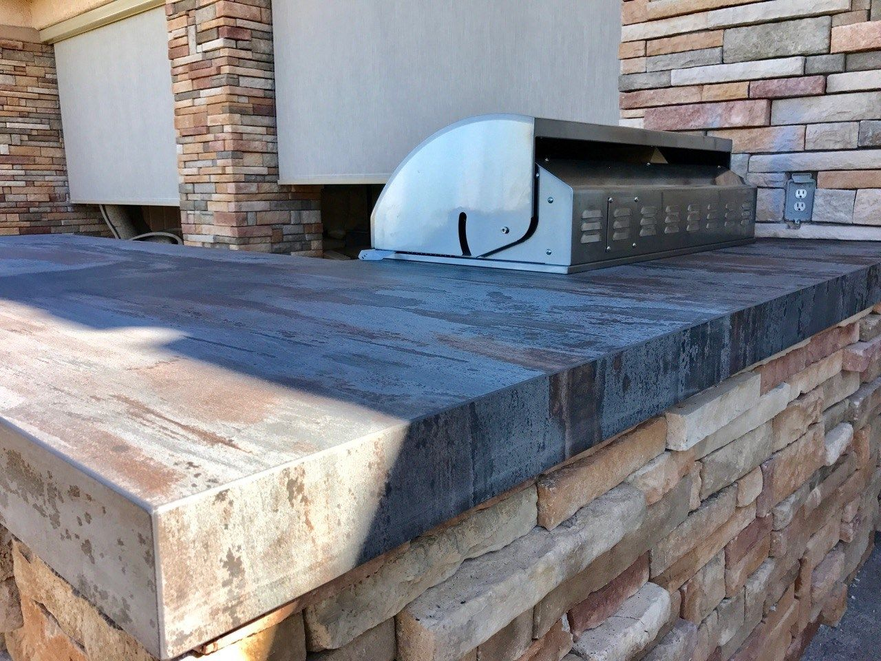Residential Commercial Outdoor Kitchen Design And Construction Services Of Southern Nevada Bbqconcepts We Love To Grill Build Astonishing