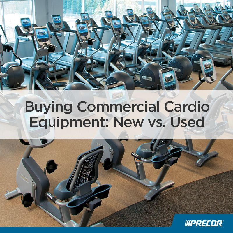 When investing in commercial cardio equipment for your fitness facility, it can be tough to decide if you should buy new or used equipment. Precor commercial sales representative Gary Weingarten gives his advice on this topic here.