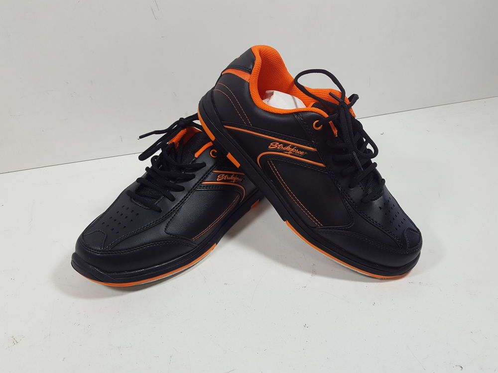 a980dac8e564 KR Strikeforce M-034-085 Flyer Bowling Shoes Black Orange Size 8.5 (eBay  Link)