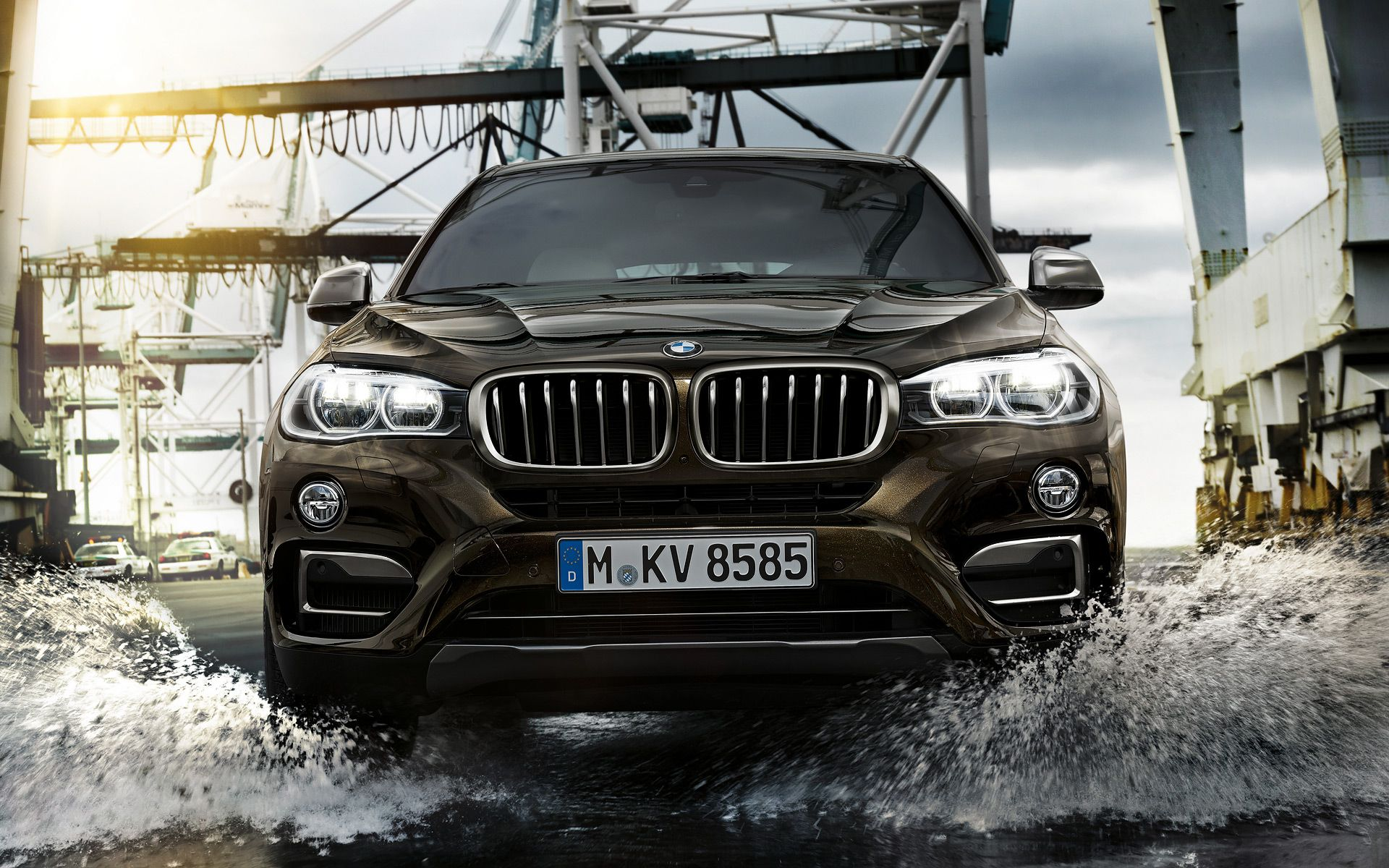 Bmw X6 With Black Metallic Color From Bmw X Series Look So Awesome