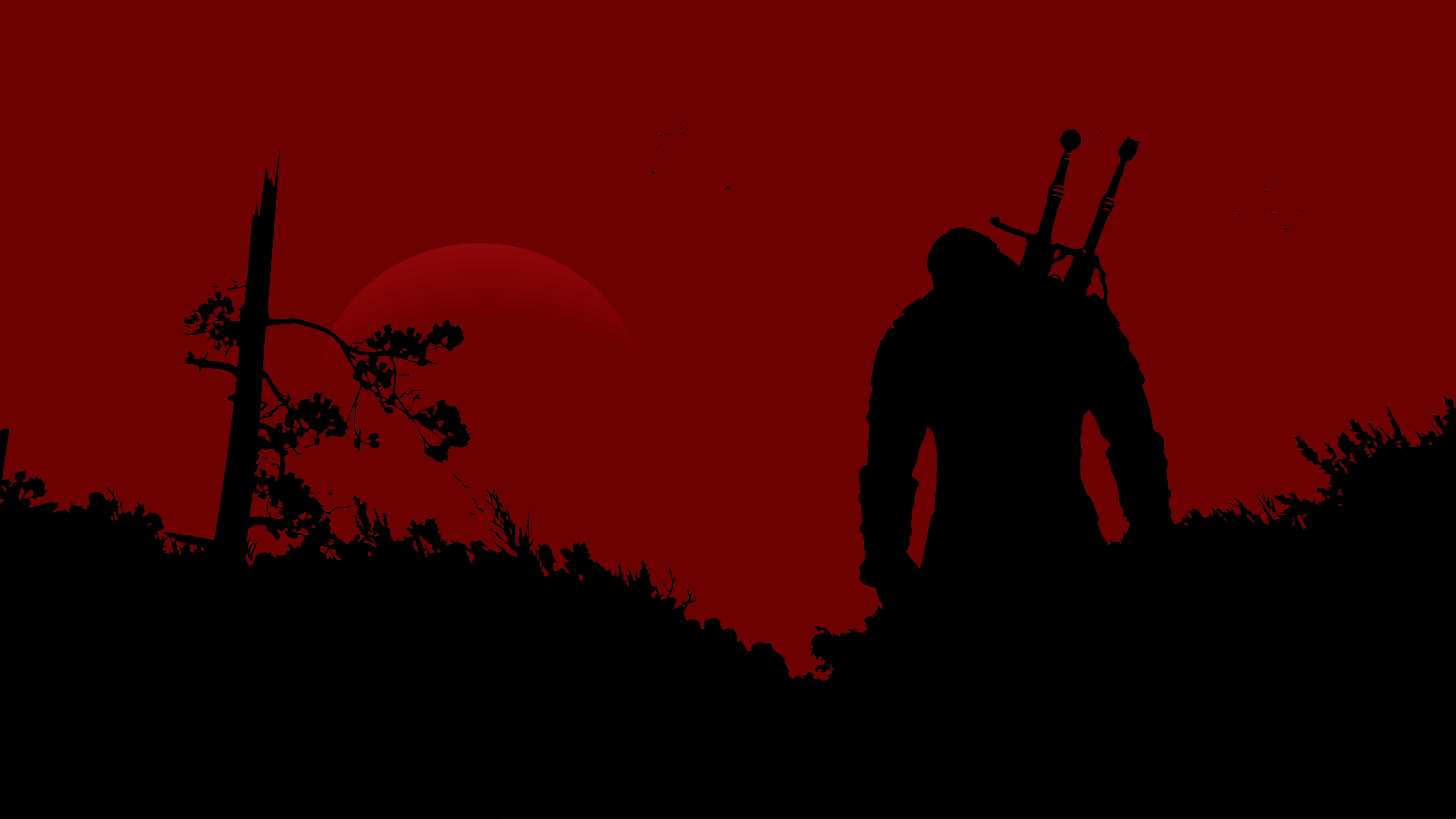 Minimalist Wallpaper Red Black Thewitcher3 Ps4 Wildhunt Ps4share Games Gaming Thewitcher Thewitcher3wildhunt Minimalist Wallpaper The Witcher Wallpaper