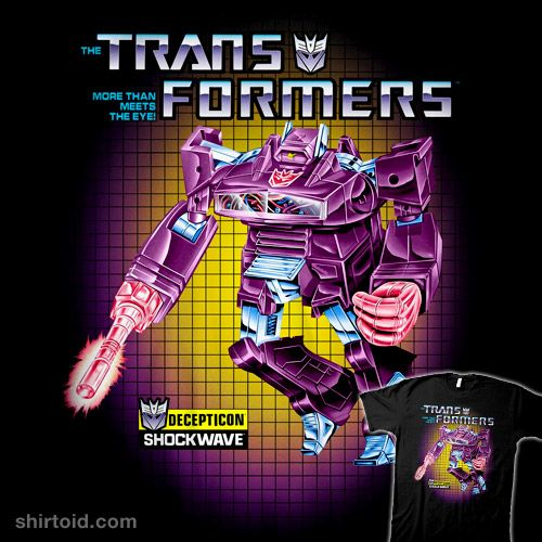 Transformers Box Art Shockwave #decepticons #film #movie #shockwave #transformers #tvshow