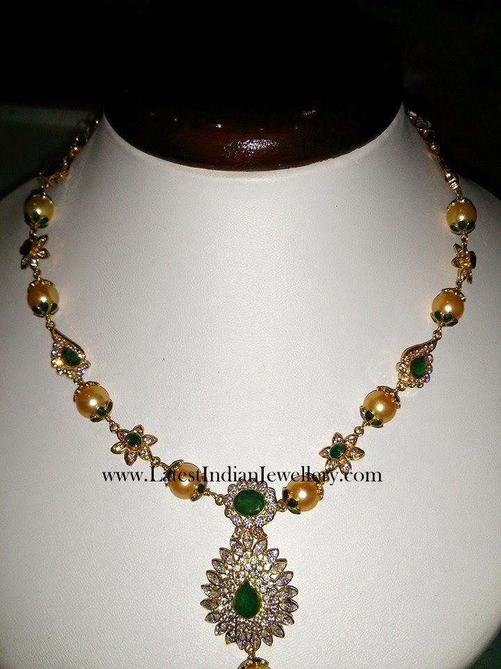 with necklace weight rupees price gold south in light designs