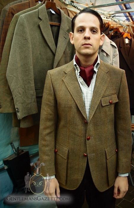 ea4ae15356f45 Shooting Jacket in Saxony Tweed | Tweed in 2019 | Tweed shooting ...