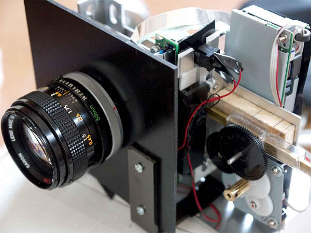 Цифровой фотоаппарат сделать своими руками