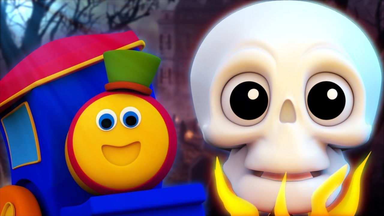 hello its halloween | bob the train | kindergarten nursery rhymes