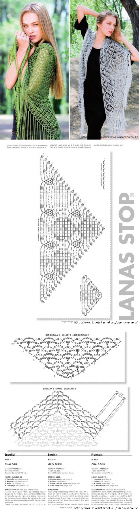 вязание крючком ажурных перчаток схемы
