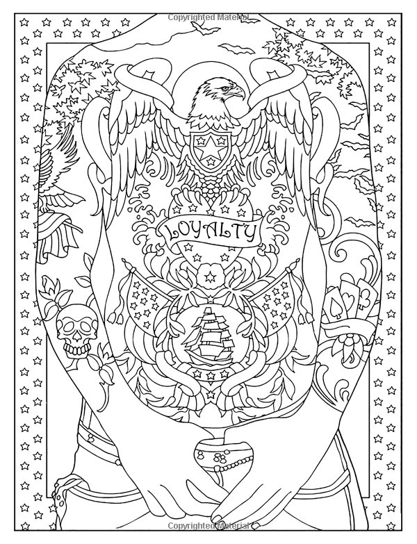 Tattoo Art Tattoo Coloring Books For Adults Relaxation Creative Haven Modern Tattoo Designs Color Designs Coloring Books Tattoo Coloring Book Coloring Books