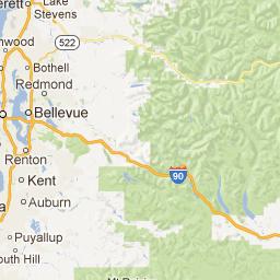 Reno NV to Renton WA Google Maps All Seattle Washington