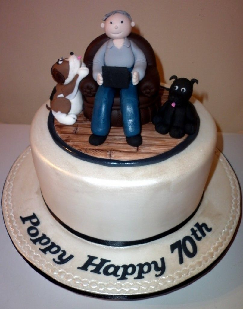 Cake Ideas For Men 70th Birthday Cake Photo Ideas 70th