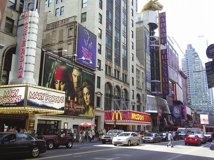 Resultado de imagen para calle 42 de nueva york