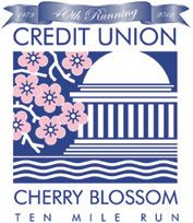 I'm in!  My first big race of 2012 - The Cherry Blossom Ten Mile Run in Washington, DC.