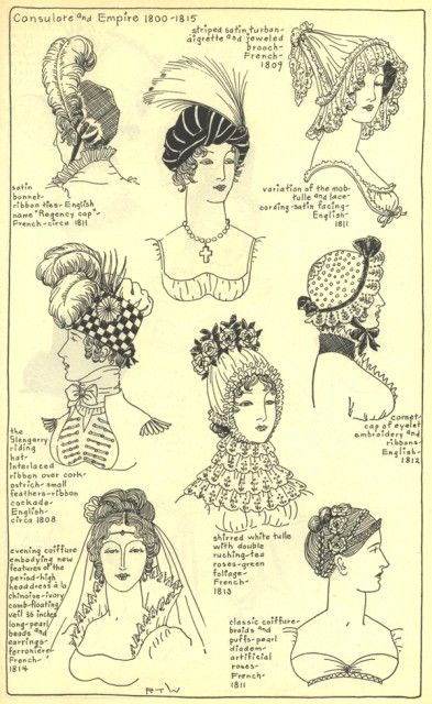 Village Hat Shop Gallery :: Chapter 13 - French Consulate and Empire ...