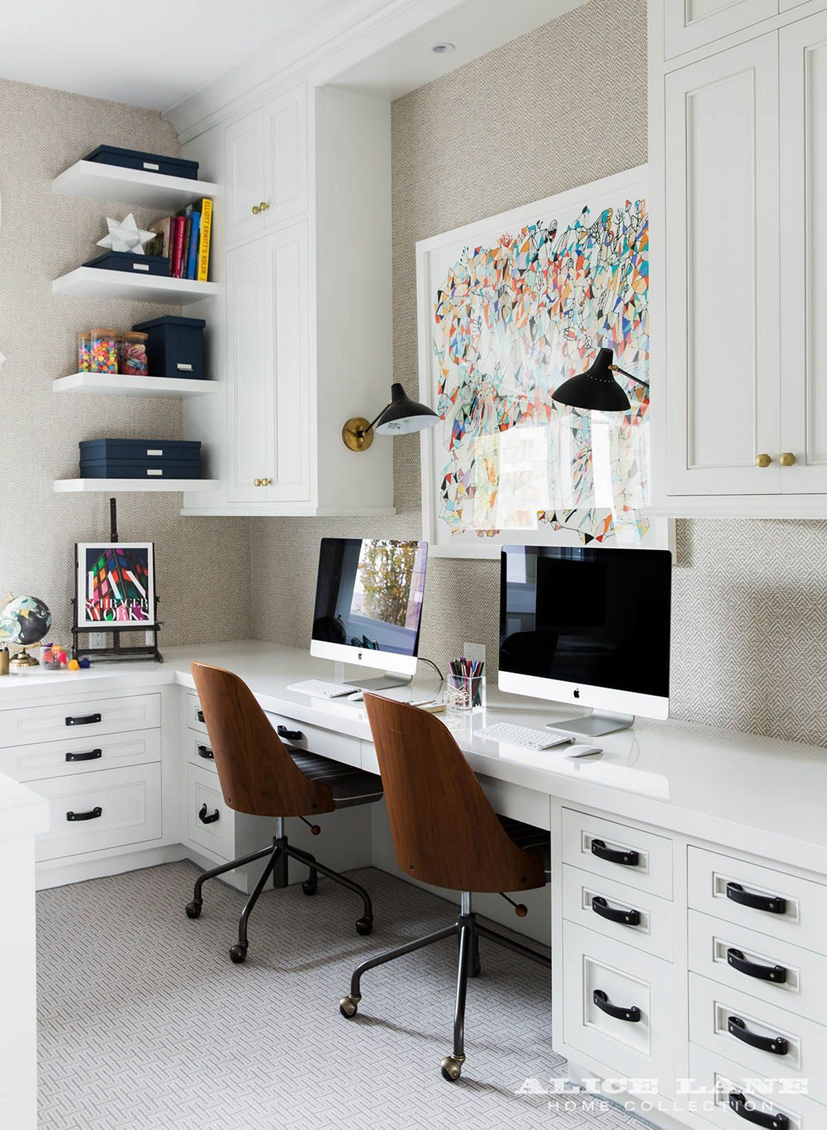 Dens libraries offices  shaped home office design photos ideas and inspiration amazing gallery of interior decorating also most popular alice lane study rh pinterest