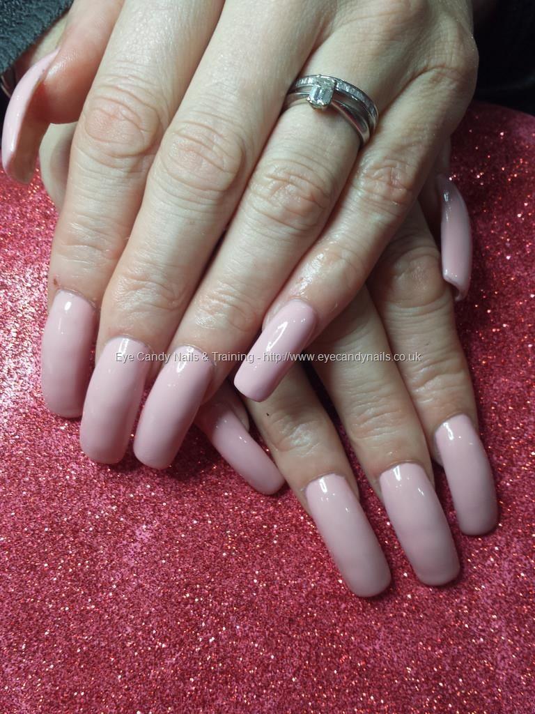 Cn nude gel polish on acrylic nails | Nail Style | Pinterest ...