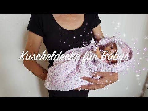 Einfaches Waffelmuster häkeln für Babydecken / Topflappen ...